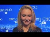 Hayden Panettiere at Jimmy Choo H&M in Hollywood...